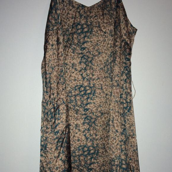 Naked Zebra Dresses & Skirts - Naked Zebra Slip Dress missing belt